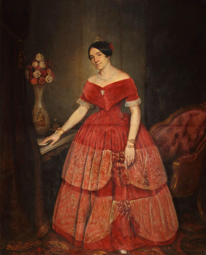 Manuelita Rosas fue una mujer que impuso tendencia en su época