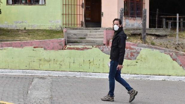 La preocupación es grande y todos los pobladores eligen tomar medidas de precaución (Franco Fernández)