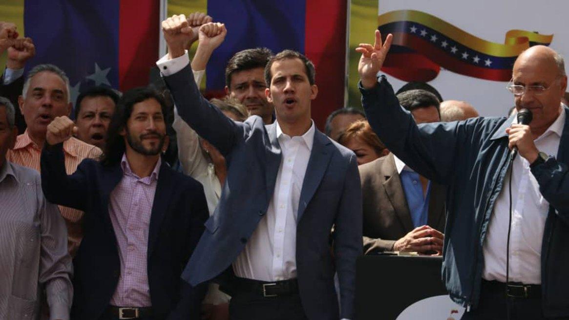 Juan Guaidó se declaró a cargo del Poder Ejecutivo de Venezuela el viernes 11 de enero de 2018