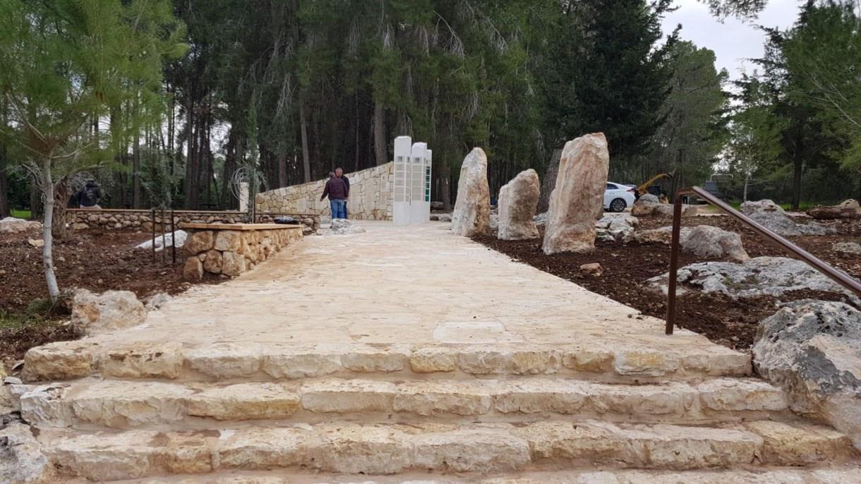 Aquí estará emplazado el monumento a Nisman