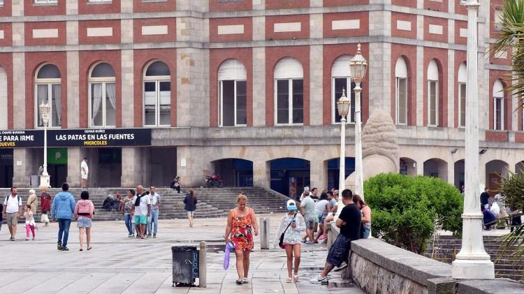 El hotel Provincial, una clásica postal de Mar del Plata (NA)