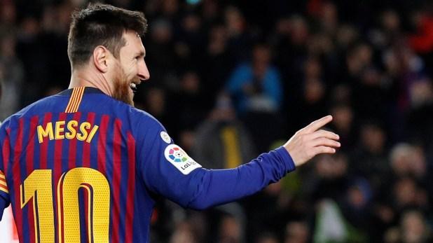 El Barcelona de Messi y otra presentación por la liga española ante Leganés (REUTERS/Albert Gea)