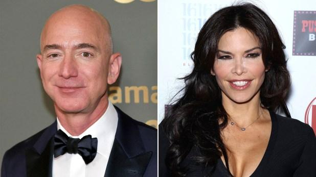 Jeff Bezos y Lauren Sanchez, su nueva pareja