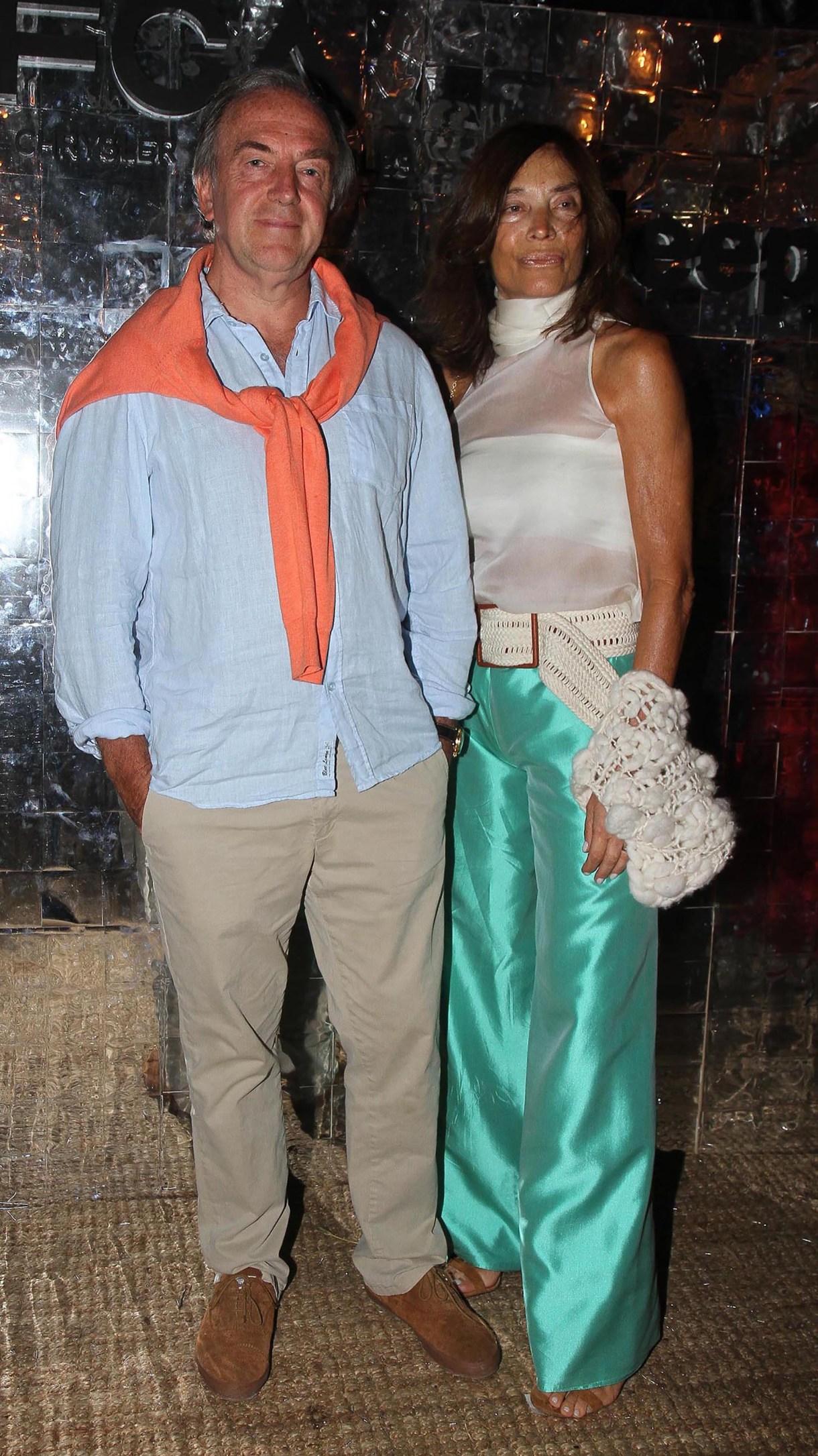 Roberto Zaldivar y su mujer Estela