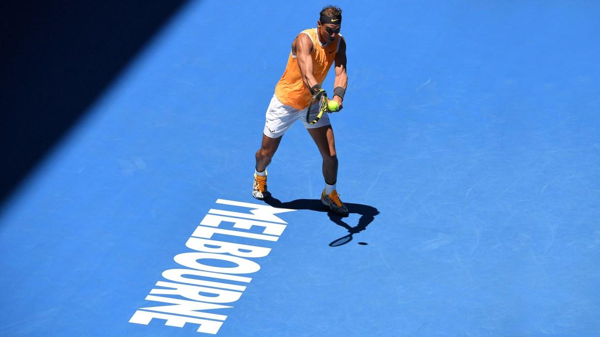 Nadal avanzó a segunda ronda del Abierto de Australia (AFP)