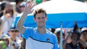 Diego Schwartzman ganó en el debut en el Abierto de Australia (EFE/EPA/MAST IRHAM)