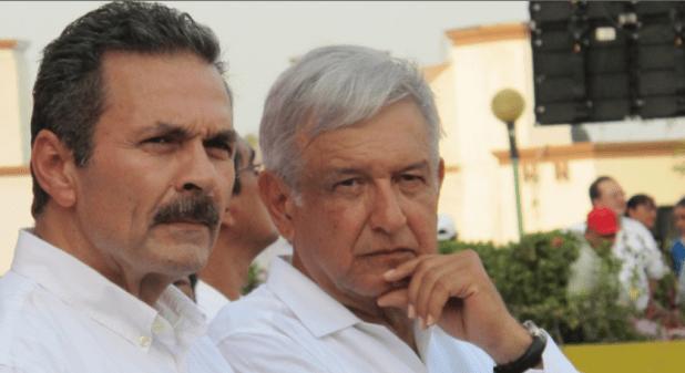 Octavio Romero Oropeza y Andrés Manuel López Obrador. (Foto: Especial)