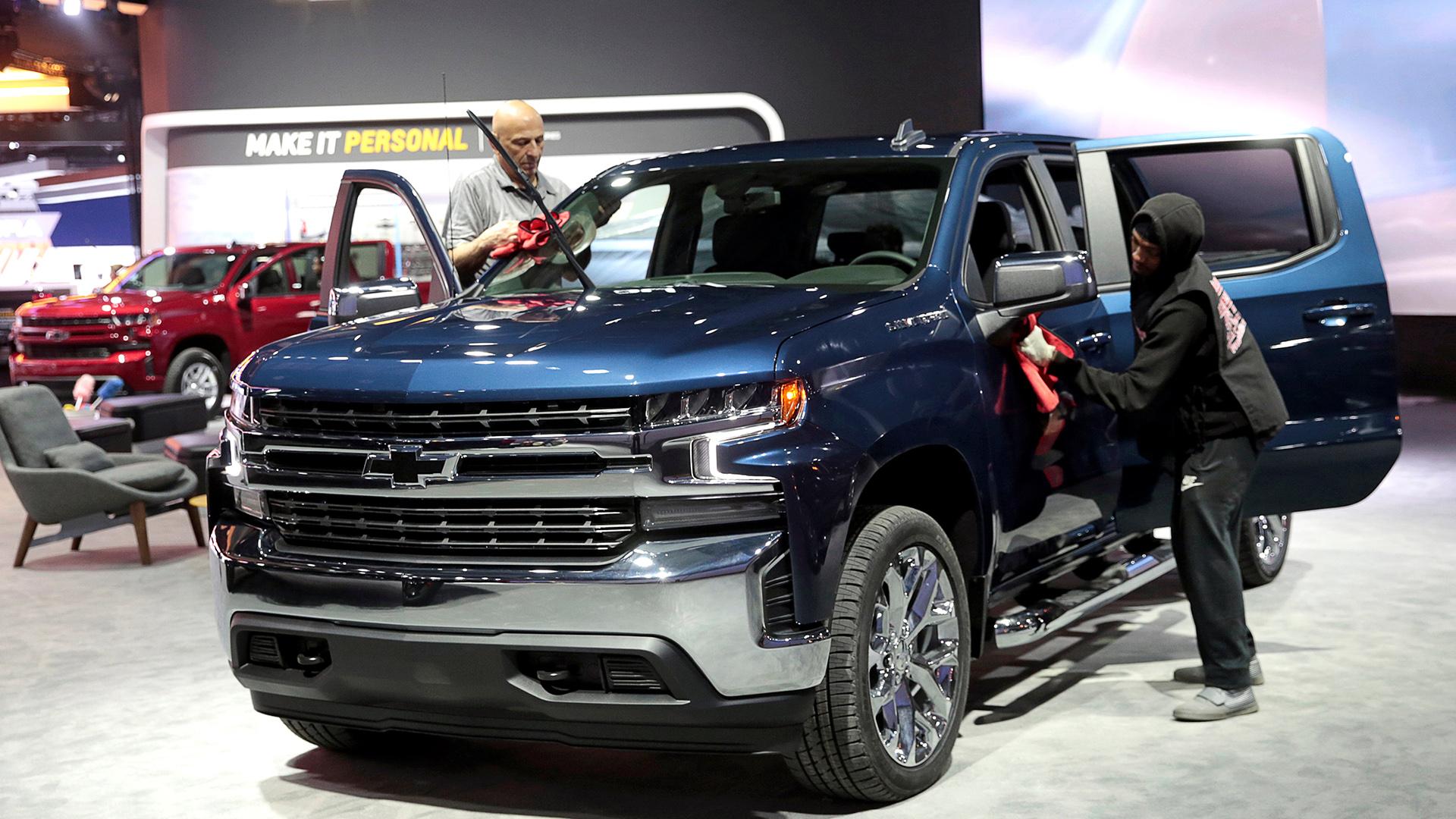 las fotos salon del automovil de detroit 2019 lujosos deportivos y las camionetas suv que se vienen infobae