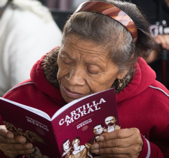 """Para algunos sectores de la población, el mandatario es una especie de """"caudillo (Foto: MOISÉS PABLO/ CUARTOSCURO)"""