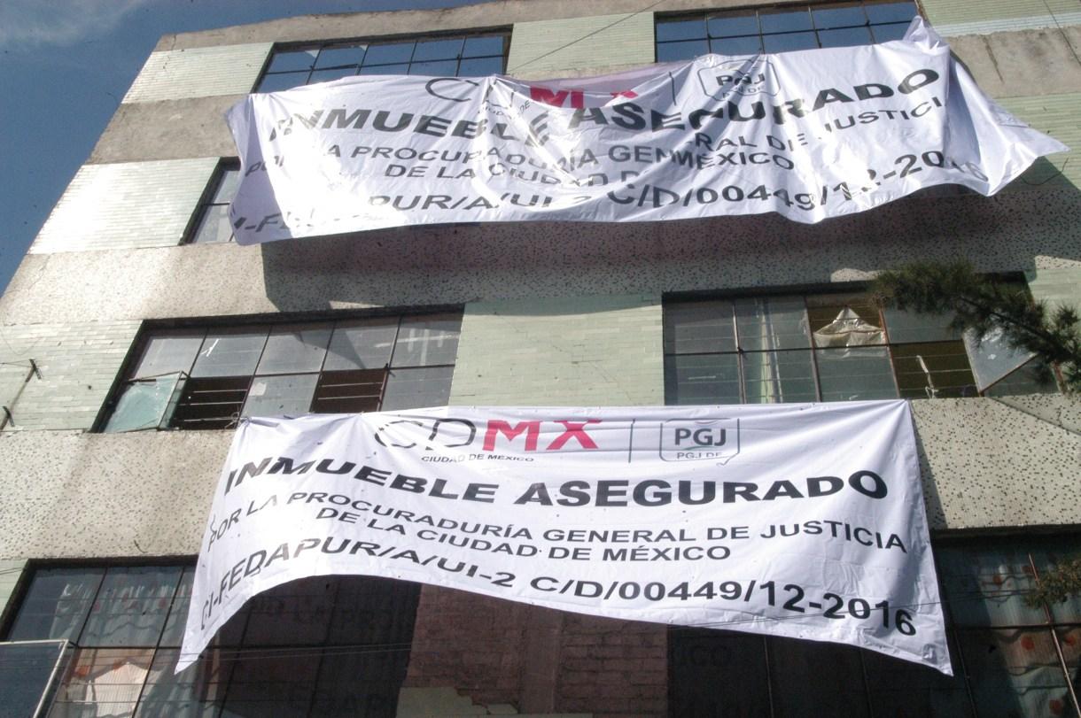 """Inmueble recuperado por autoridades de la Ciudad de México que se encontraba en poder """"La Unión de Tepito"""" en la alcaldía Cuauhtémoc (FOTO: ARMANDO MONROY /CUARTOSCURO.COM)"""
