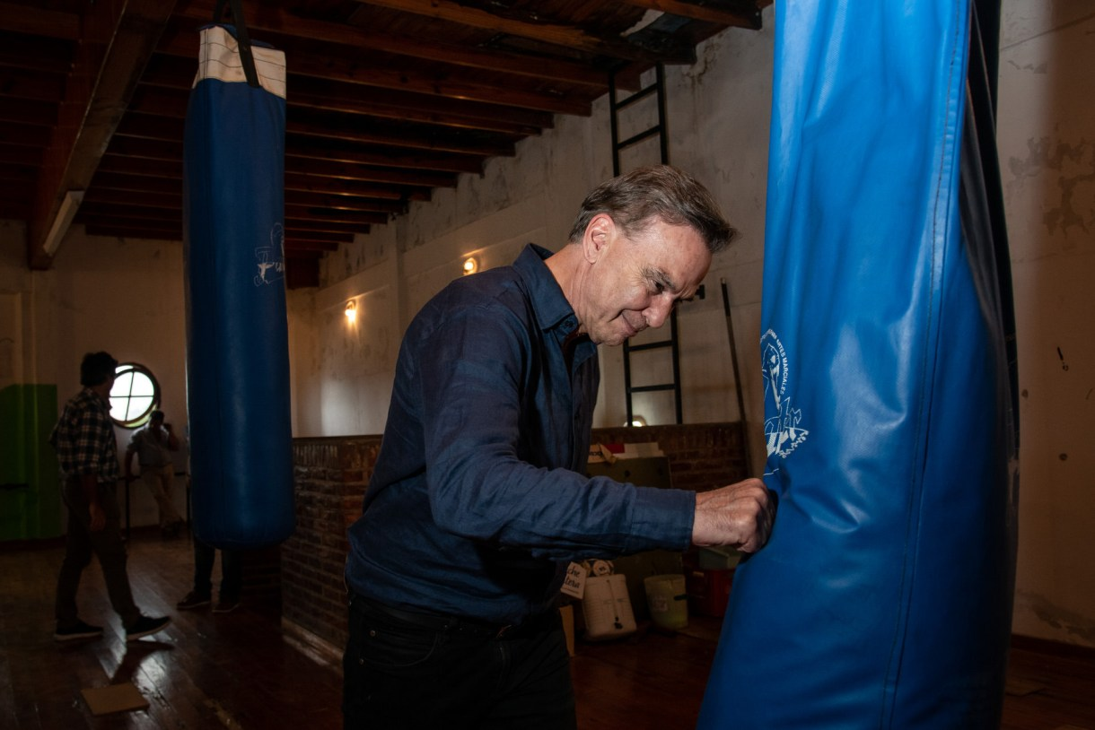 Pichetto visitó un club de Mar de Ajó tras su desayuno con Lavagna