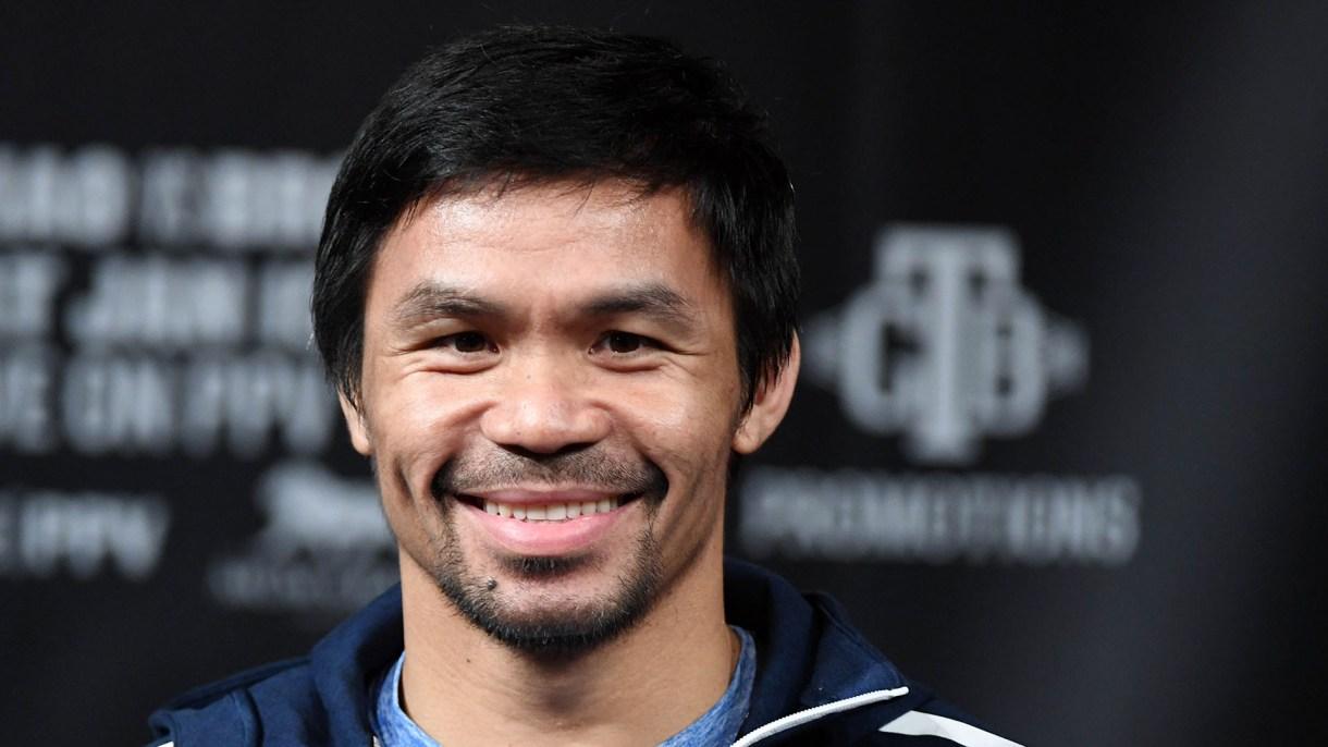 Pacquiao peleará contra Broner el fin de semana (Foto: AFP)