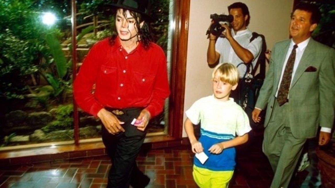 Michael Jackson con Macaulay Culkin