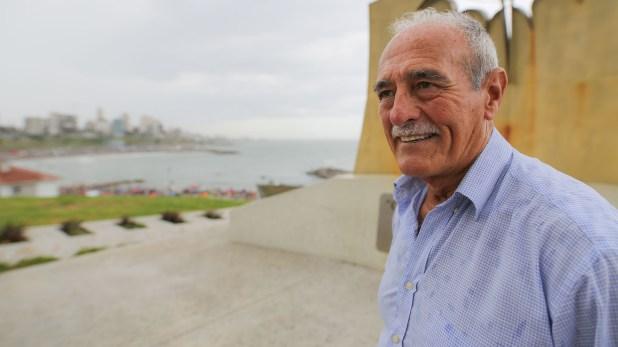 """Jorge """"El Vasco"""" Iriberri nació en Necochea pero luego su familia se mudó a Mar del Plata (Christian Heit)"""
