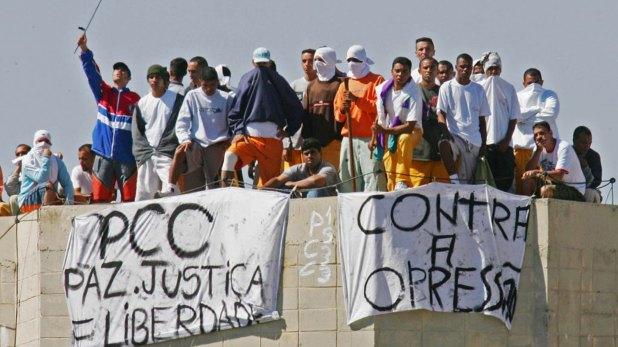 Las cárceles de Brasil están superpobladas con integrantes del PCC y el CV