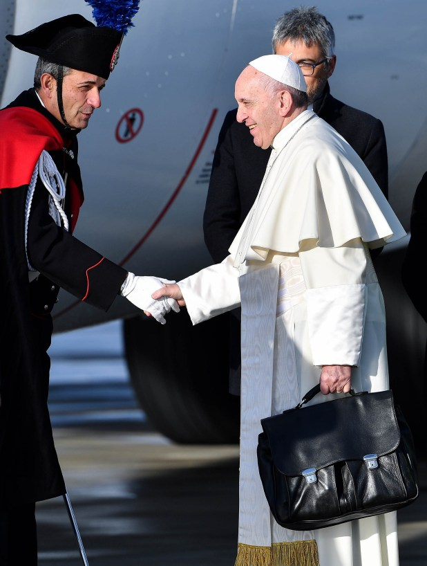 El papa Francisco se quedará hasta el domingo en Panamá (AFP)