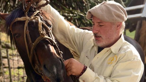 Fabián es guardaparques del Parque Nacional Lanin (Horacio Paone)