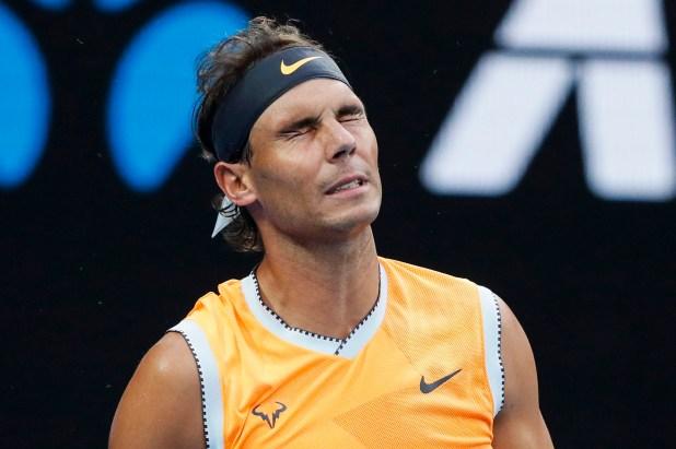 Nadal no tuvo chances ante un rival que mostró un juego impecable (AFP)