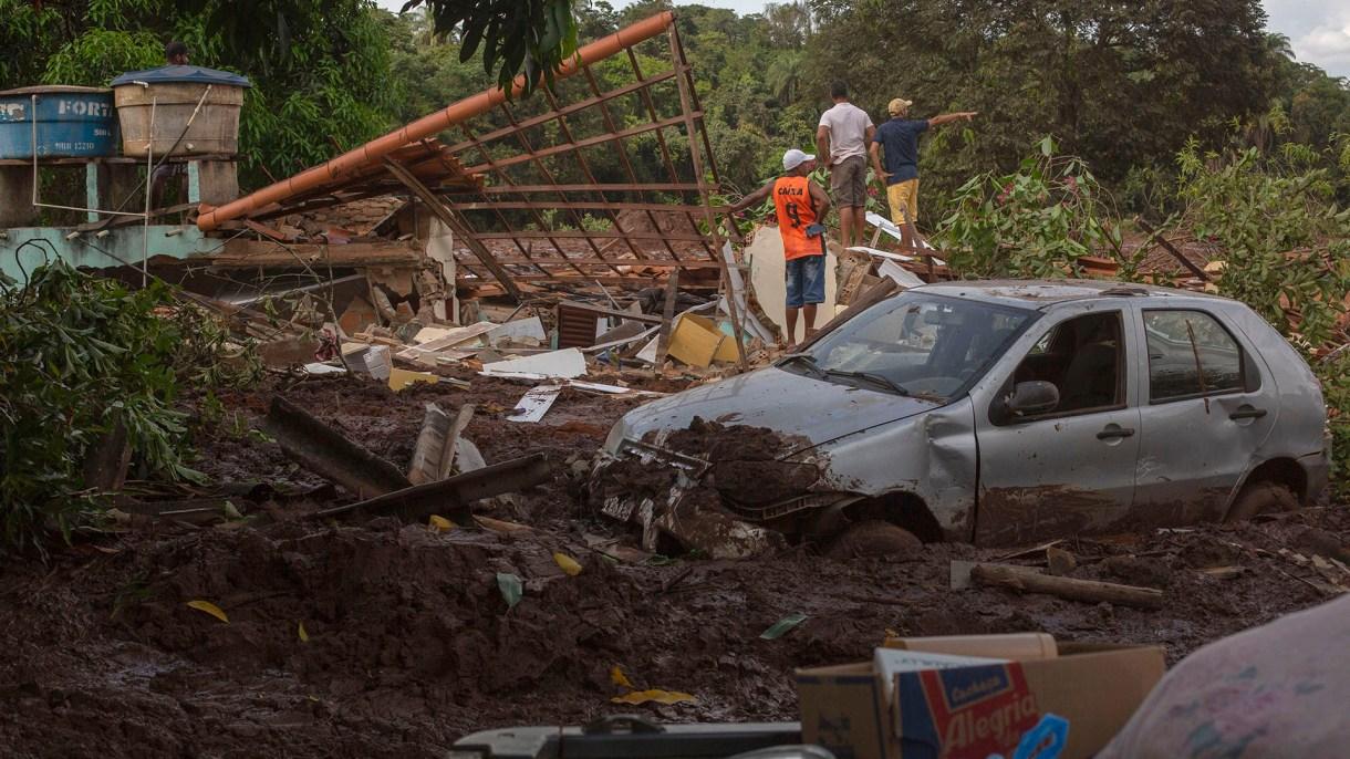 Se trata del peor desastre medio ambiental de este tipo en la historia de Brasil (AFP)