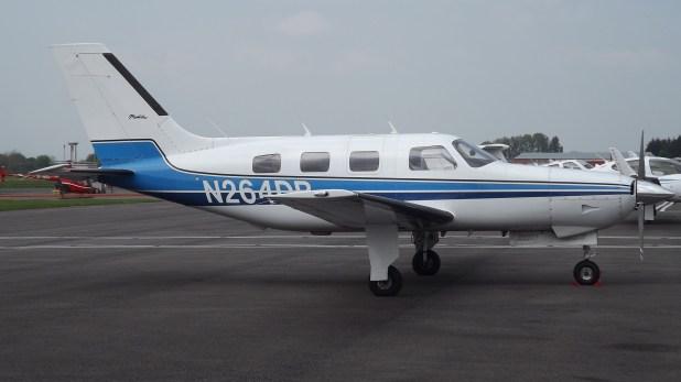 La avioneta que trasladaba a Sala y que piloteaba David Ibbotson (James from Cheltenham)