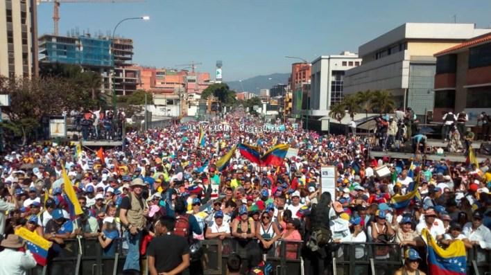 Se espera una masiva protesta para este sábado en las calles de Venezuela (@AsambleaVE)