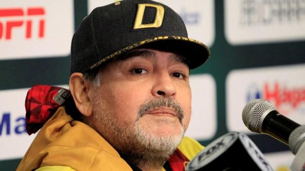 Dorados, el equipo que dirige Maradona, se ubica en el anteúltimo puesto de la Liga de Ascenso mexicano. (Reuters)