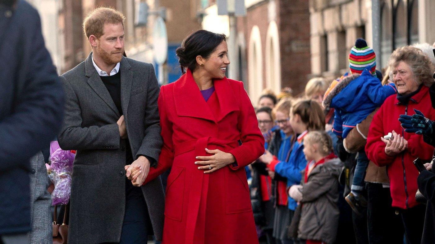 Meghan Markle está considerando tener a su bebé en su nueva casa (AP)