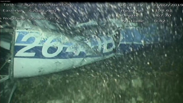 El avión Pipel Malibú fue encontrado a 63 metros de profundidad en el Canal de la Mancha (Foto: AAIB)