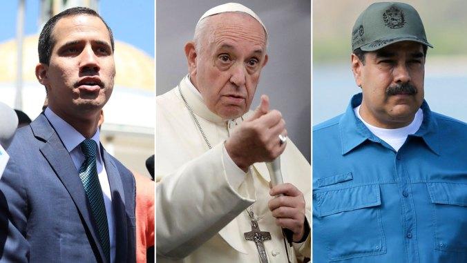 Francisco manifestó su disposición a mediar en la crisis venezolana, pero con el aval de ambas partes