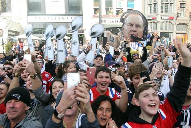 Ahora, los Patriots igualaron la marca dePittsburgh Steelers con seis títulos
