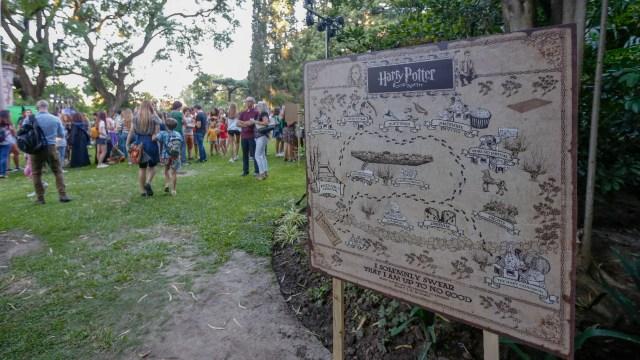 Los jardines de la embajada británica simulan ser la Escuela de Magia y Hechicería Hogwarts por unas horas