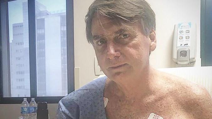 Bolsonaro en el hospital (@jairmessiasbolsonaro)