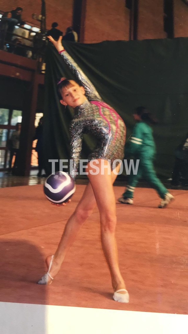 Noelia formó parte de la selección argentina de gimnasia