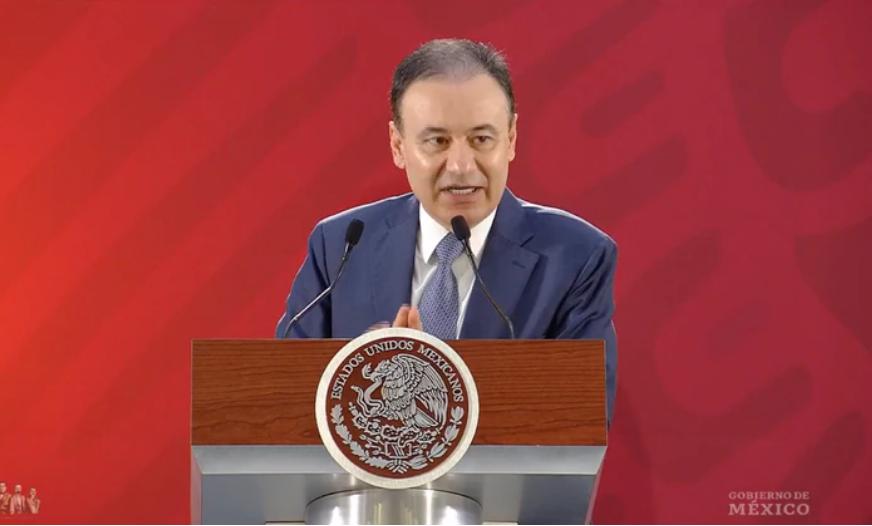 Alfonso Durazo confirmó que no será necesario que las Fuerzas Armadas (Foto: archivo)