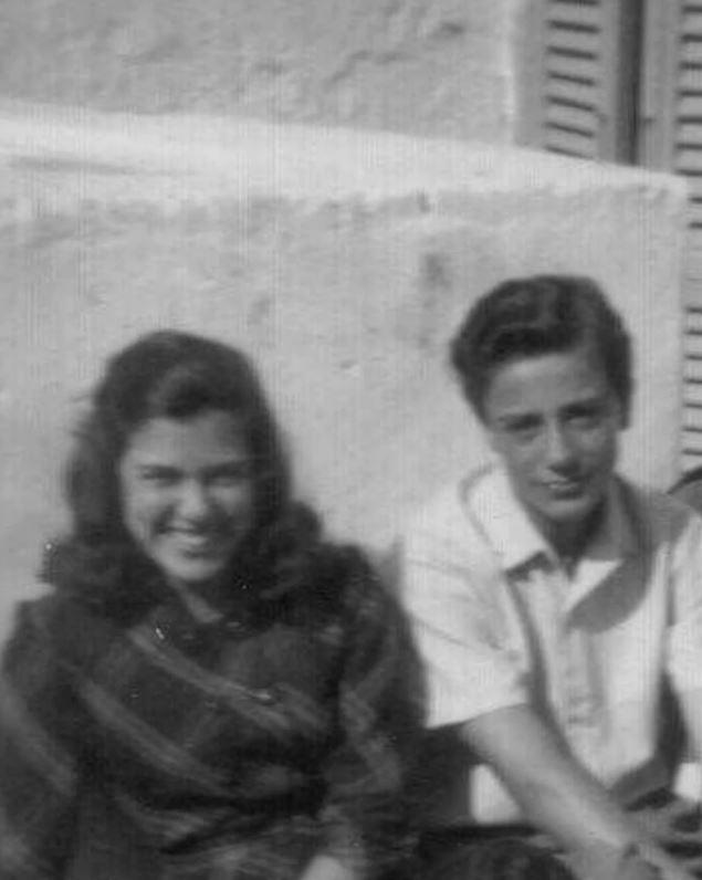 Marilena Lerario y Aldo Sportelli, una historia de amor que nació en 1951 en Polignano a Mare, Italia (Gentileza The Washington Post)