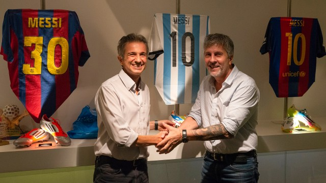 Fundación Messi, en alianza con Fundación Garrahan, formalizó el apoyo a la investigación en cáncer infantil a través de la Unidad Ejecutora I+G (Garrahan – Conicet).