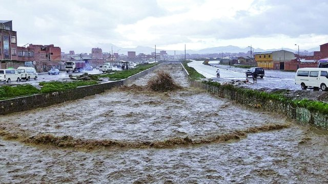 Al menos 20 muertos y 12 desaparecido por la temporada de lluvias en Bolivia