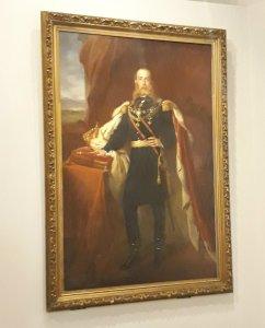 Retrato del emperador Maximiliano (Cynthia Talavera / Infobae)