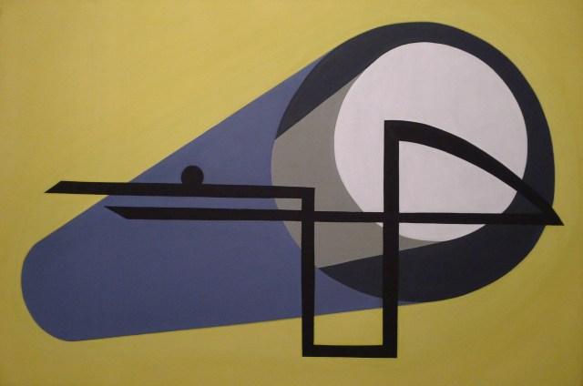 Magdalena Jitrik, Sin título, 1996, oleo sobre tela, 80 x 120 cm