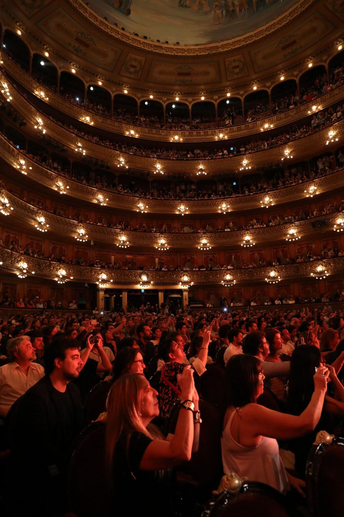 El público coreo todas las canciones de los artistas (Fotos: Christian Bochichio/Teleshow)