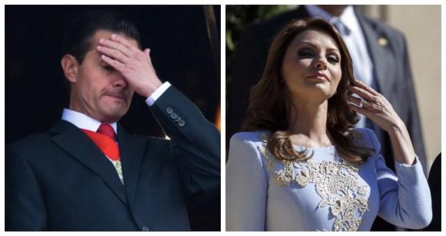 Angélica Rivera está muy dolida por haber sido expuesta por su aún marido (Foto: Especial)