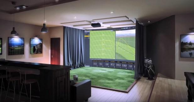 Simulador de la empresa TrackMan