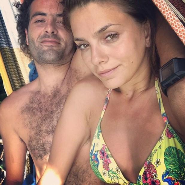 Una de las fotos que publicó Natalie Pérez junto a su novio que recibió varias críticas de sus seguidores