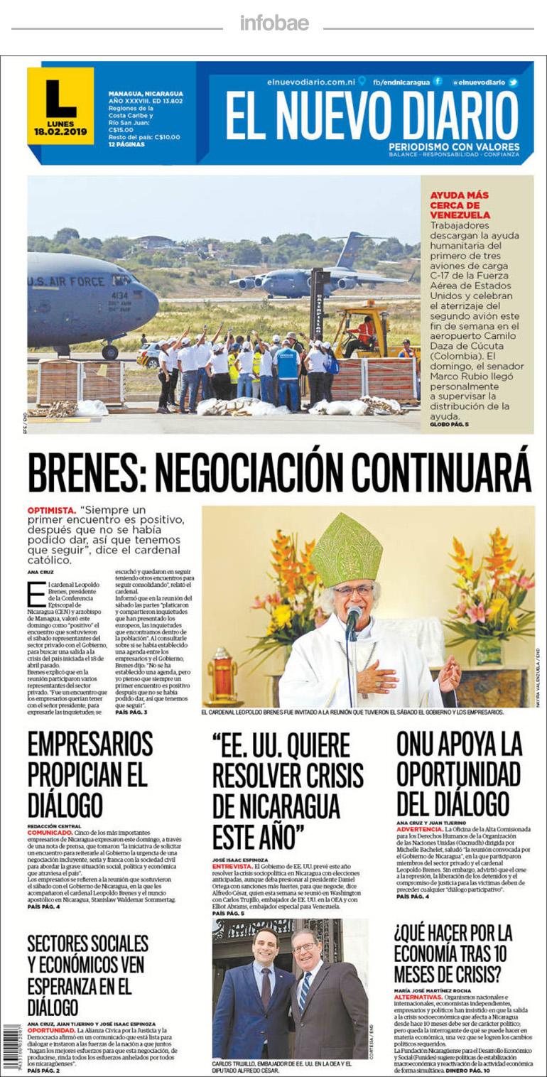 el nuevo diario nicaragua