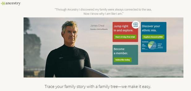 Ancestry.com fue el sitio que le permitió a Linda Lawless tener certeza de que su padre era un sacerdote