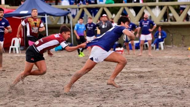 La arena de la costa madrynense vibró con los tacles de los rugbiers nacionales