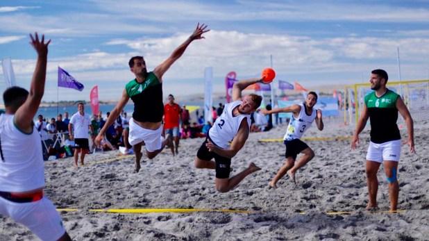 El nivel del handball sobre la arena fue muy alto durante esta edición de los Juegos Nacionales de Playa 2019