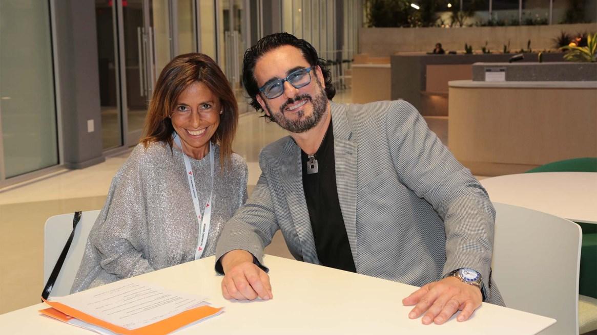 Miguel Varoni durante entrevista con Infobae (Luis Fernandez)