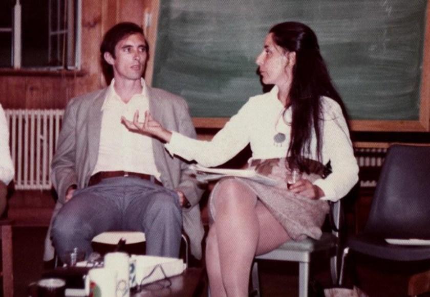 John Dumoulin e Isabel Larguia