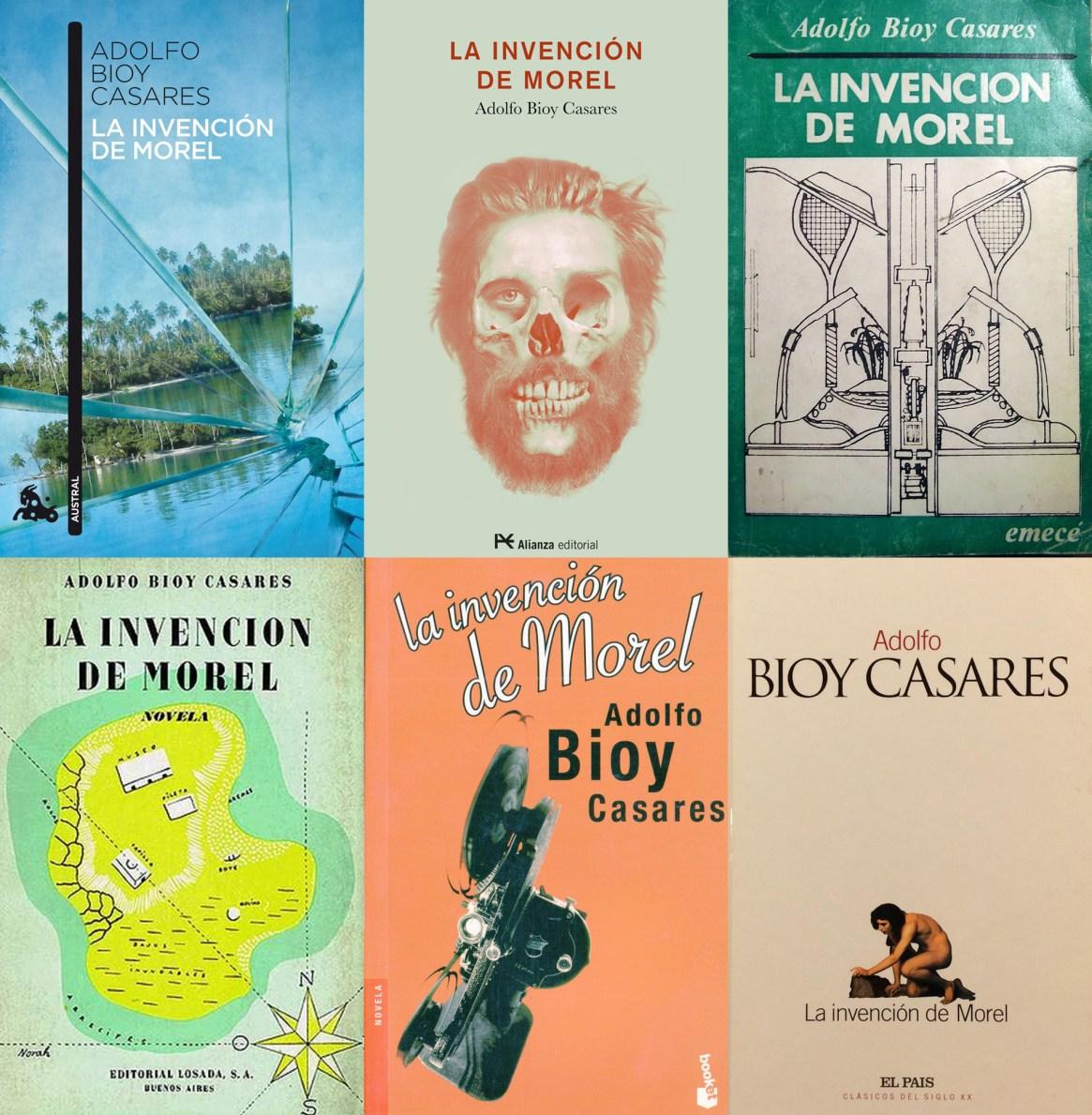 """Distintas ediciones de """"La invención de Morel"""""""